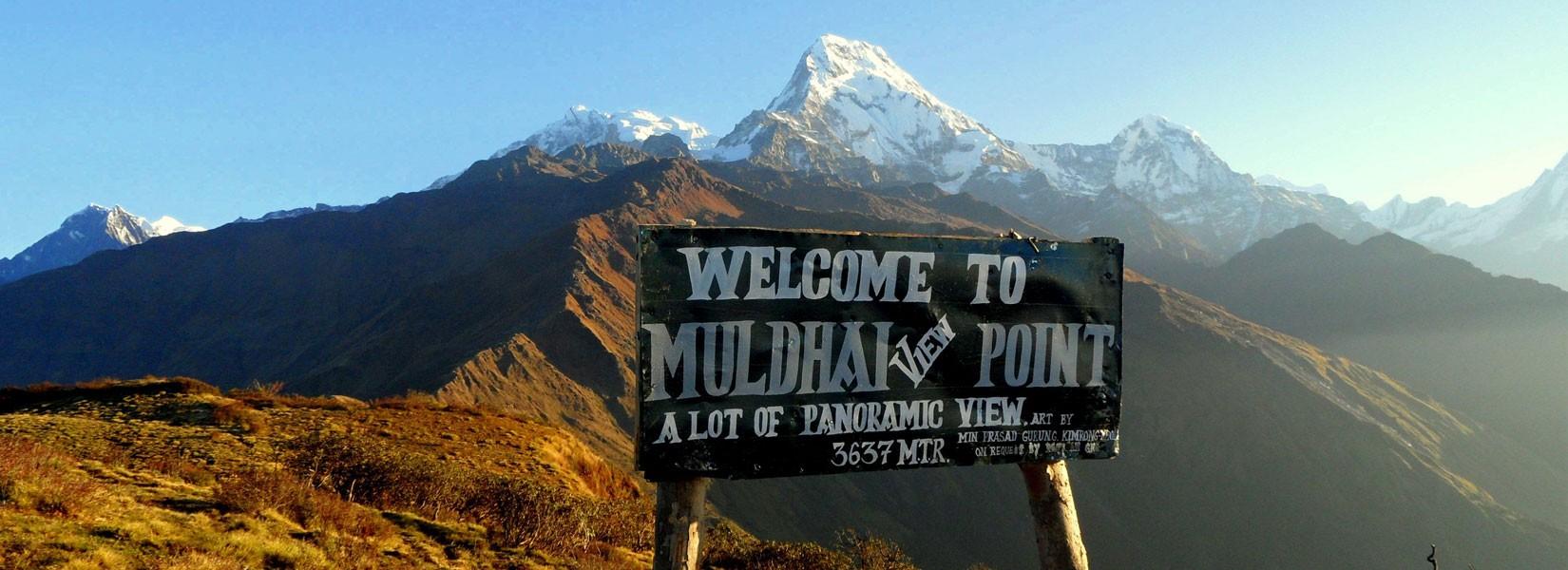 Mulde View Point Trekking