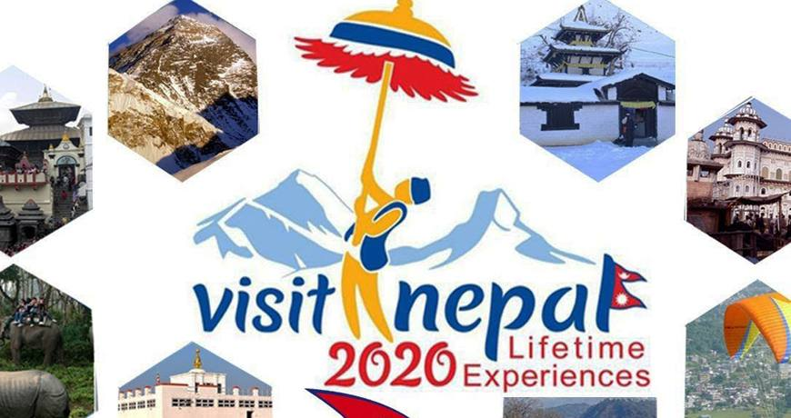 "The Year 2020 Planned as ""Nepal Visit Year"" to bring 2 M. Tourist"