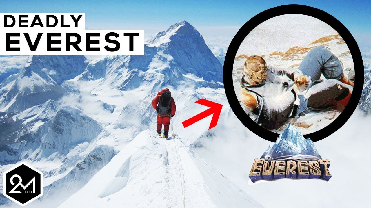 How many dead bodies are on Mount Everest?