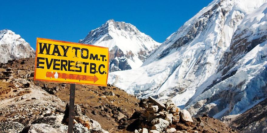 Everest Base Camp Trekking Map