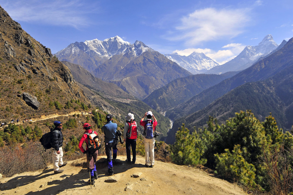 Nepal Hiking in Himalaya