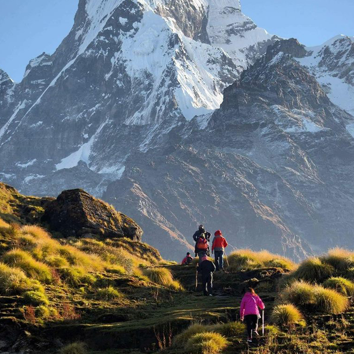 Ghandruk-Landruk Short Trekking 4 Days from Pokhara