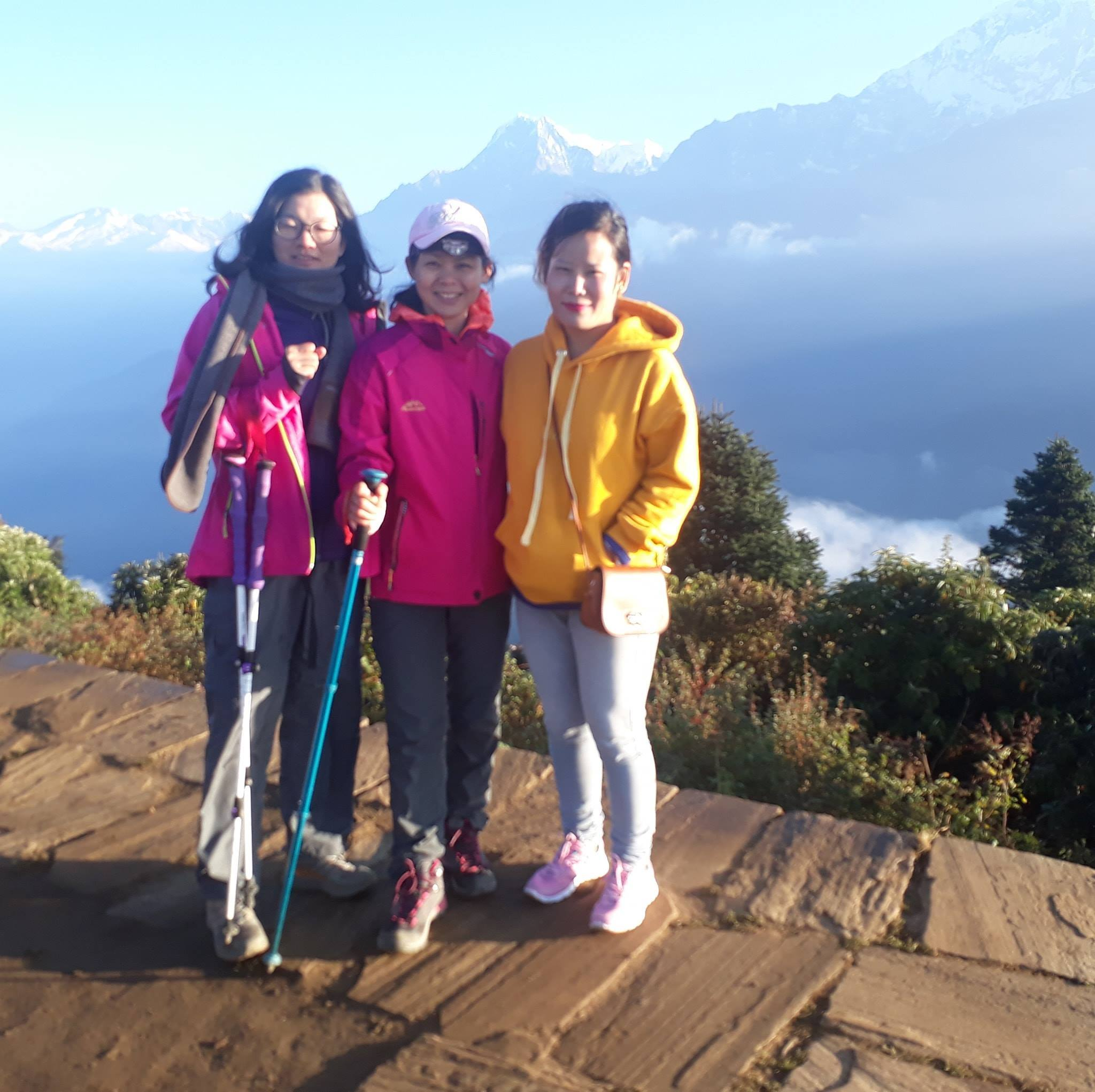 Poonhill Trekking Cost with Local Female Trekking Guide Nepal